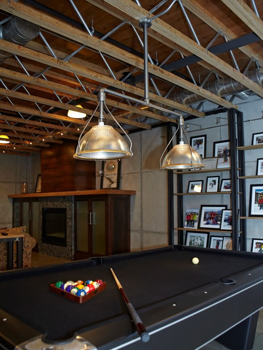 Industrial Pool Table Light