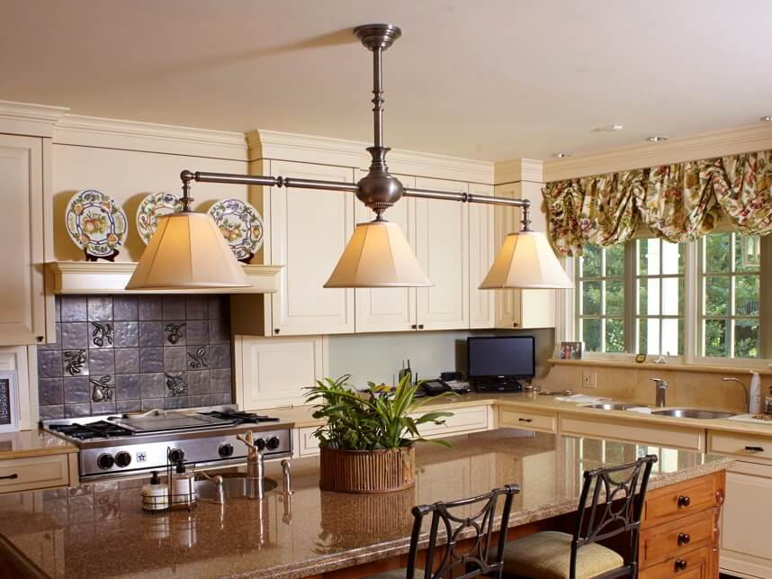 Large Scale Kitchen Island Chandelier