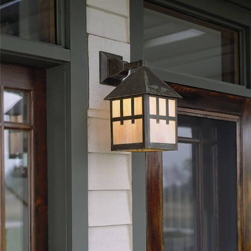 Bungalow family of external lantern lights