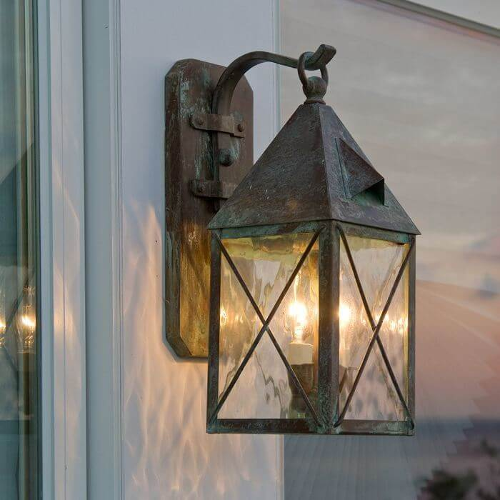 Lancaster family of Tudor style exterior lantern lights