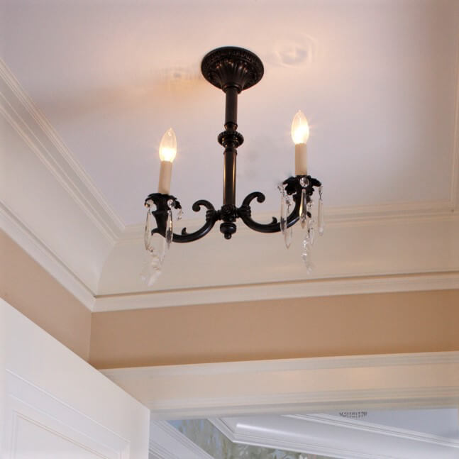 Saint Tropez family of highly detailed wall sconces, pendant lighting, ceiling fixtures, and chandeliers