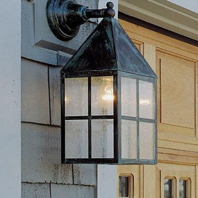 Carriage Lantern family of exterior lantern lighting