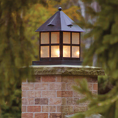 Cottage Lantern family of classic exterior lantern lights