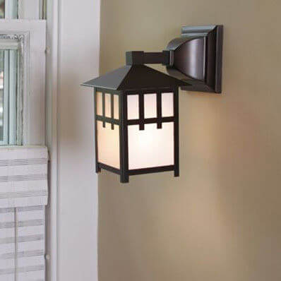 Craftsman family of Arts & Crafts interior lantern lighting