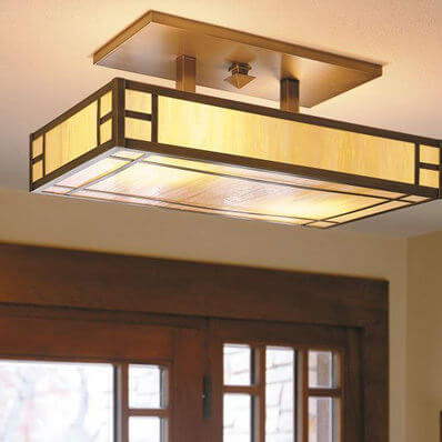 Edgewood family of ceiling lantern light