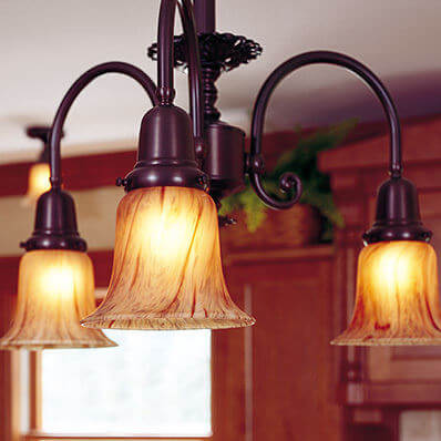 Glen Ellyn family of timeless light fixtures