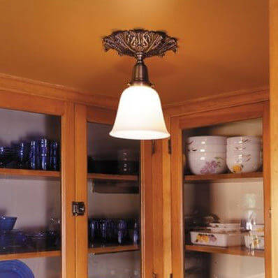 Newberry family of ceiling fixtures and pendant lighting