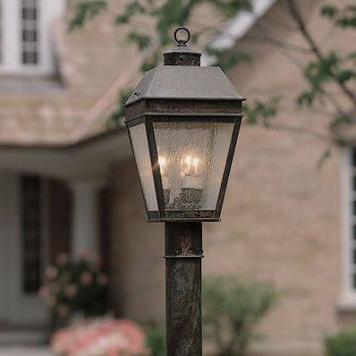 Provincial family of exterior cottage lantern lighting