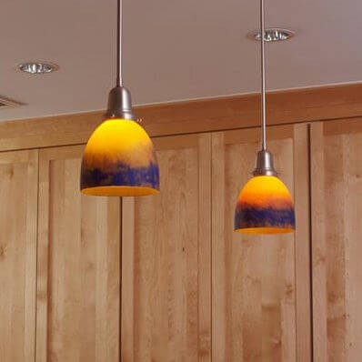Retro family of contemporary lighting fixtures