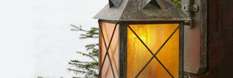 Rustic Exterior Wall Lights