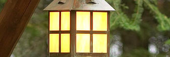 Rustic Post Lights