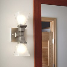 Humboldt Two Light Linear Sconce