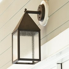 Carriage Lantern™ 8 in. Wide Straight Arm Exterior Wall Light