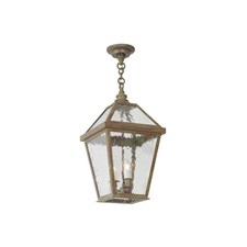 London Lantern™ 12 in. Wide Chain Hung Exterior Pendant Light
