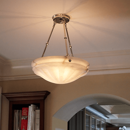 Alabaster Pendant Lights
