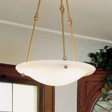 Navarra™ 19 in. Diam Multi-Stem Alabaster Pendant