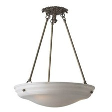 Hampton™ 24 in. Diam Ornate Multi-Stem Alabaster Pendant