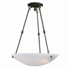 Empire™ 24 in. Diam Ornate Multi-Stem Alabaster Pendant