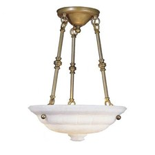 Ionian™ 16 in. Diam Multi-Stem Alabaster Pendant