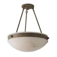 Tuscany with Band™ 16 in. Diam Multi-Stem Alabaster Pendant
