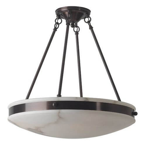 Tuscany with Band™ 24 in. Diam Multi-Stem Alabaster Pendant