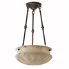 Pantheon™ 16 in. Diam Multi-Stem Alabaster Pendant