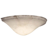 Navarra Sconce™ 16 in. Wide Alabaster Wall Sconce