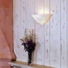 Ionian™ 12 in. Wide Alabaster Wall Sconce