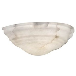 Hampton™ 14 in. Wide Alabaster Wall Sconce