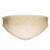 Greek Key™ 12 in. Wide Handcarved Alabaster Wall Sconce