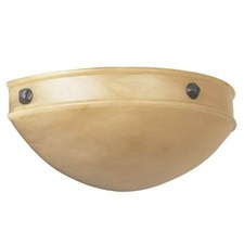 Tuscany Sconce™ 16 in. Wide Morris Ball Finials Alabaster Wall Sconce