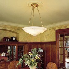 Ionian™ 24 in. Diam Multi-Stem Alabaster Pendant