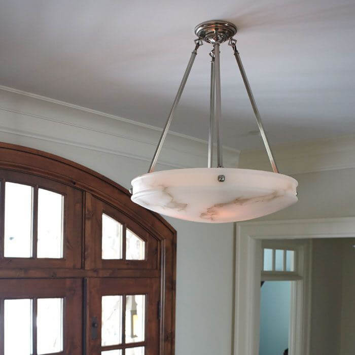 Morris™ 24 in. Diam Multi-Stem Alabaster Pendant
