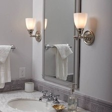 Ballantrae™ One Light Straight Arm Sconce with 2-1/4 in. shade holder