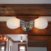 Ballantrae™ Two Light Linear Sconce with 2-1/4 in. shade holders