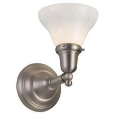 Shoreland One Light Straight Arm Sconce with 2-1/4 in. shade holder