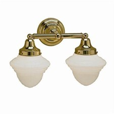 Shoreland Two Light Straight Arm Sconce with 3-1/4 in. shade holders