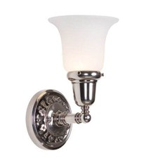 Argine™ One Light Straight Arm Sconce with 2-1/4 in. shade holder