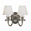 Provence™ Two Light Curved Arm Sconce with electric candles