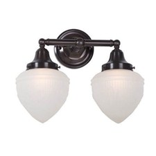 Ballantrae™ Two Light Straight Arm Sconce with 3-1/4 in. shade holders