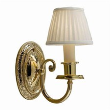 Cotswold Manor™ One Light Curved Arm Sconce with electric candle