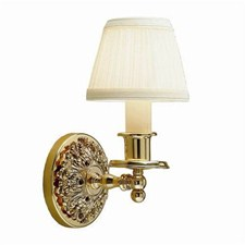 Provence™ One Light Straight Arm Sconce with electric candle