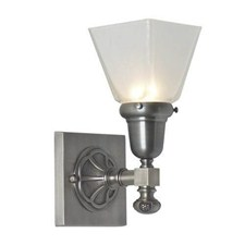 Morris™ One Light Straight Arm Sconce with 2-1/4 in. shade holder