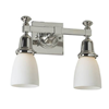 Morris™ Two Light Straight Arm Sconce with 2-1/4 in. shade holders