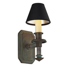 Winston™ One Light Straight Arm Sconce with electric candle