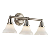 Carlton™ Three Light Straight Arm Sconce with 2-1/4 in. shade holders