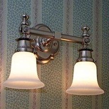 Montclair™ Two Light Straight Arm Sconce with 2-1/4 in. shade holders