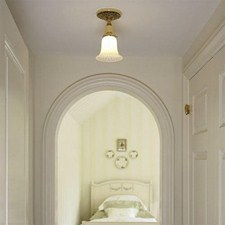 Provence™ One Light Flush Ceiling Fixture with 2-1/4 in. shade holder