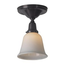 Shoreland™ One Light Flush Ceiling Fixture with 2-1/4 in. shade holder