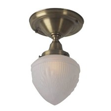 Shoreland™ One Light Flush Ceiling Fixture with 3-1/4 in. shade holder